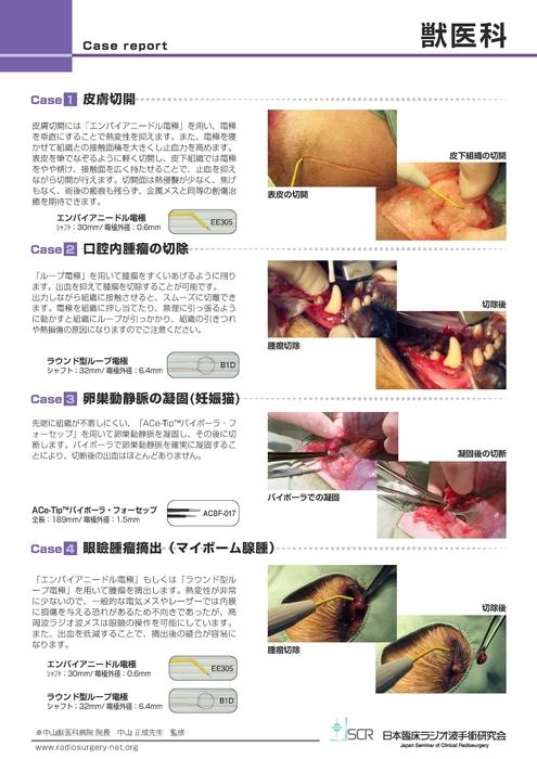 【獣医科】Case report AB 獣医科症例紹介